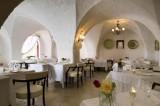 Uno dei ristoranti della Masseria