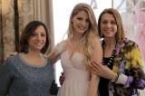 L'inviata di Si Sposa con la stilista Rosanna Perrone e la sua modella