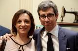 L'inviata di Si Sposa con Leonardo Nuccio