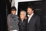 Carlo pignatelli con Ana Laura Ribas ed Enrico Brignano
