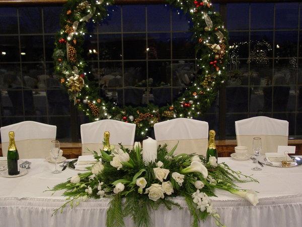 Addobbi Matrimonio Tema Natalizio : Sposarsi a capodanno è una splendida e romantica idea