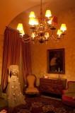 Una delle stanze di Palazzo Guastamacchia