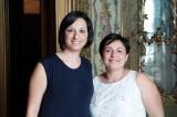 L'inviata Lucia con la stilista Alessandra Ferretti