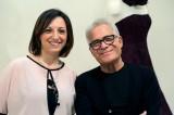 L'inviata di Si Sposa con lo stilista Carlo Pignatelli
