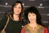 Lucia con la designer Elisabetta Polignano