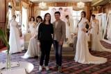 Lucia con Gino Signore e le sue modelle